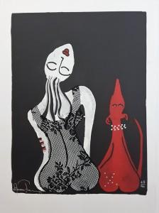 Anette Fahlberg litografi 2100kr