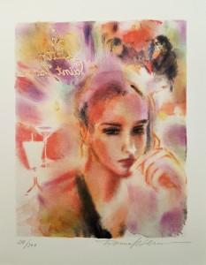 Nr.82 Tatiana Kotlianora litografi