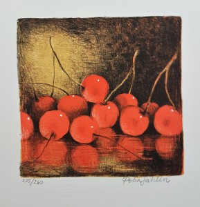 Petra Sahlin litografi