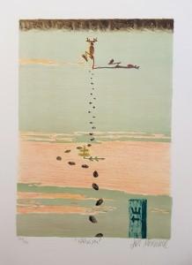 Lars Mortimer litografi