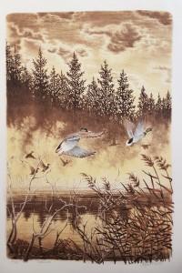 Engstedt litografi