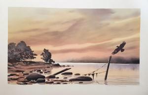 Nr.83 Rune L Johansson litografi 1600kr