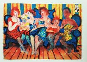 Nr.87 Peter Dahl litografi 4900kr